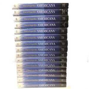 Encyclopedia Americana 18 Partial Set Scholastic